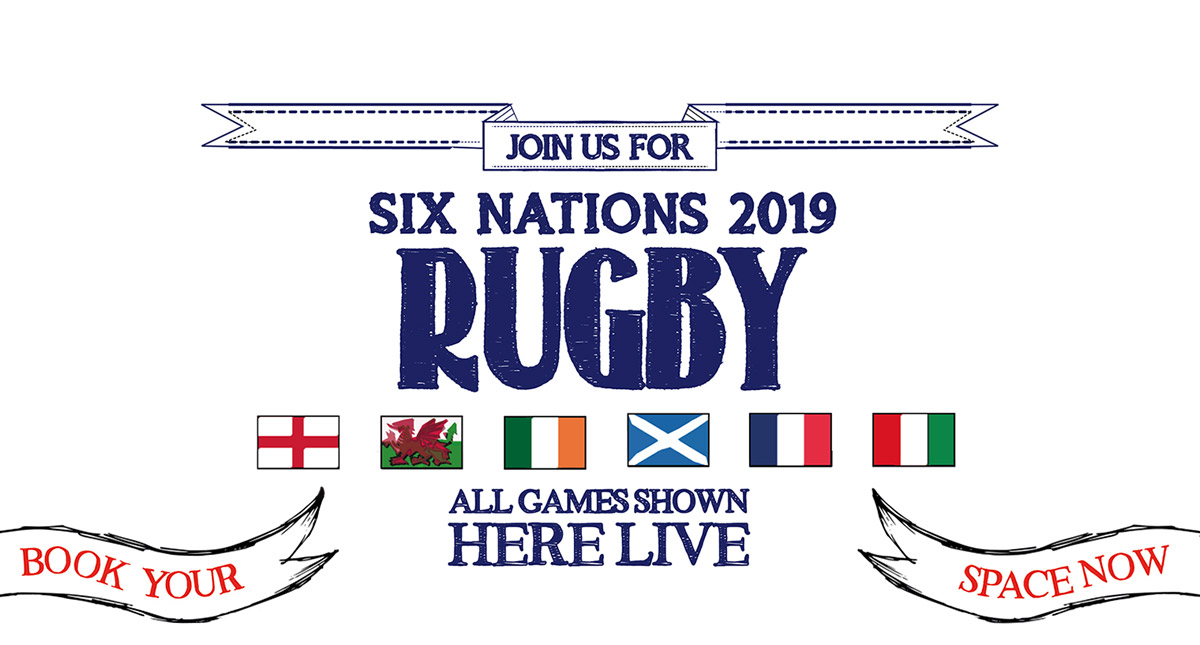 Watch the 6 Nations at The Flyer in Bristol